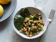 Healthy Food on the Fly: Lemony Chickpea Salad with Herbs : Food Network Lentil Salad Recipes, Easy Salad Recipes, Bean Recipes, Veggie Recipes, Healthy Recipes, Veggie Food, Tuscan Bean Soup, Herb Salad, Quick Weeknight Meals