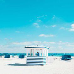 Cabana: Minimalist and Bold Landscapes of Miami Beach by David Behar #minimalistphotography #landscapephotography