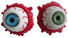 NEW - Eyeball Brooch by Kreepsville 666 - choose green or blue #ayp #igotmyeyeonyou #kreepsville666