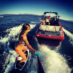 Super stoked.....ready to learn how to wake surf