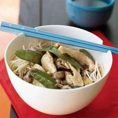 wild mushroom and chicken stir fry wild mushrooms add meaty texture ...