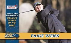 St. Mary's Weiss named Heartland Women's Golfer of the Week