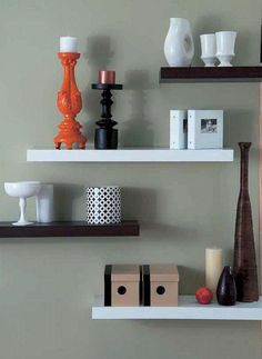 1000 Ideas About Floating Wall Shelves On Pinterest