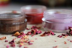 Tinted Moisturizer Lip Balms. 100% Natural. by Historiasdapele on Etsy