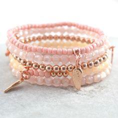 Sieraden gemaakt met Polaris Pearl shine kralen & kwastjes