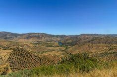 Alto da Sapinha near Barca de Alva, Portugal