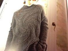 Ravelry: CILLE bluse med hulmønster i spiral pattern by Lene Holme Samsøe