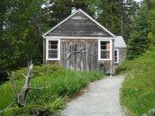 nestled near Acadia National Park, Grey Havens is a woodsy rustic get-a-way right on Pretty Marsh Harbor, Mt. Desert, Maine