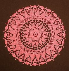 Bea's 14-inch Round Doily (Tribute to Janie Herrin) | Flickr – Compartilhamento de fotos!