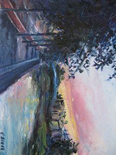 'Sunset over Sally's Bridge'