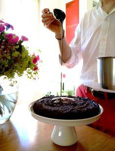 Decadent Chocolate Ganache Cake Chocolate Ganache Cake, Decadent Chocolate, Chocolate Lovers, Chocolate Fondue, Afternoon Tea, Sweet Treats, Posts, Desserts, Blog
