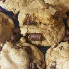 """Best ever chocolate chip cookies! """"""""  @allthecooks #recipe #cookies #dessert #chocolate #chip #easy"""