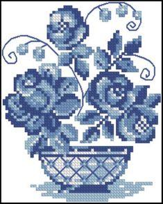Discover recipes, home ideas, Cross Stitch Cards, Cross Stitch Rose, Cross Stitch Flowers, Cross Stitching, Cross Stitch Embroidery, Embroidery Flowers Pattern, Embroidered Flowers, Cross Stitch Designs, Cross Stitch Patterns