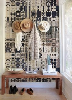 Boho Mozaic Wallpaper | COLORAYdecor.com: 2-day Shipping On Your Removable Wallpaper
