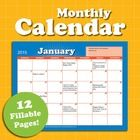 Introducing the calendar that never runs out! Our monthly calendar features 12 colorful PDF pages with blank dates and years. You can fill them in,...