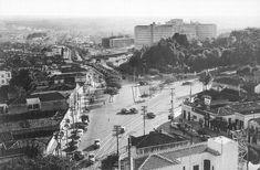 Década de 50 - Avenida Rebouças esquina com avenida Doutor Arnaldo.