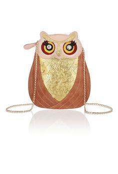 Charlotte Olympia Owl Bag.