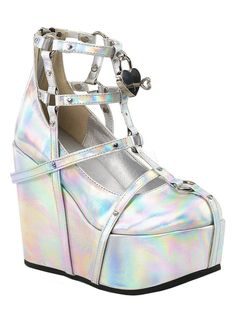 Demonia Poison 25-2 Platform Wedge
