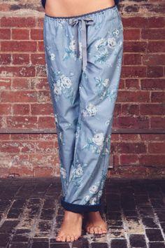 Bell cathédrale Jersey rayé Loungepant pyjamas par luvahuva sur Etsy, $89.00