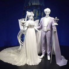 Gorgeous full size Neo Queen Serenity and King Endymion display at the Sailor Moon Exhibition that opened it doors IN JAPAN ONLY. This exhibit is in the Roppongi Hills district in Tokyo and will be going on until June! Can't forget the exclusive merchandise they're selling which is a NEED! Once again another reason to be in Japan Source: Rainbowgift (via Twitter) #SailorMoon by prettyguardian_sailormoon