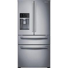 Amazon.com: SAMSUNG RF28HMEDBSR French Door Refrigerator, 28 Cubic Feet, Stainless Steel: Appliances