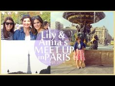 {VLOG #2} - Lilly Pebbles & ViviannaDoesMakeUp Meet Up in Paris