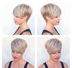 Du stehst auf Natürlichkeit? Dann haben wir 10 großartige blonde Kurzhaarfrisuren, die alle sehr natürlich aussehen, für Dich! - Neue Frisur