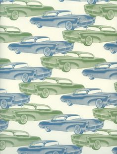 Classic Cars PAPER Vintage Cars Paper Vintage by OneDayLongAgo