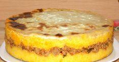 Mamaliga in straturi cu carne tocata, cum se face mamaliga in straturi Food Art, Tapas, French Toast, Cheesecake, Cooking Recipes, Meat, Breakfast, Desserts, Face