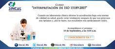 """Sabías que... La norma #ISO15189 es el estándar aplicable a los laboratorios clínicos.  Acompáñanos al curso """"Interpretación de ISO 15189"""". Consulta los detalles aquí: www.sincal.org/cursos-de-capacitacion-iso15189.html"""