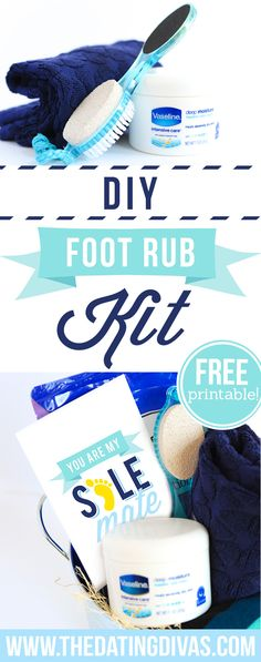 DIY Foot Rub Kit
