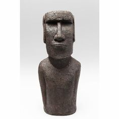 Contemporary Heaven offer a range of unusual and novel products, this Moai Monolith Easter Island Head Statue is the ultimate floor standing decorative figure for any room in your house. Easter Island Statues, Head Statue, Stone Statues, Art Gallery, Unique, Accessories, Design, Art Museum
