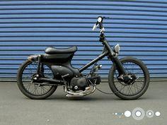 【スーパーカブ】はじめてのスーパーカブ カスタム HONDA SUPER CUB:PLANET3rd DESIGNING - Life on the road - Planet 3rd DESIGN Pit Bike, Mopeds, Motorcycle Bike, Custom Bikes, Bobber, Motorbikes, Cubs, Yamaha, Automobile