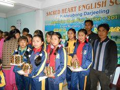 Proud moment of students at Sacred Heart English School Pokhriabong Darjeeling by Minervaa International Scholarship Examination.  #Students #scholarship #Examinations #Minervaa #Schools