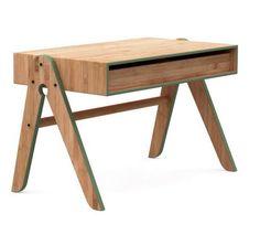 We Do Wood Geo´s børnebord - Bambus - Børnebord med stor skuffe