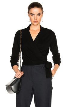 Image 1 of Equipment Shaylin Sweater in Black