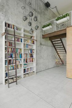 Tall Custom Bookshelf