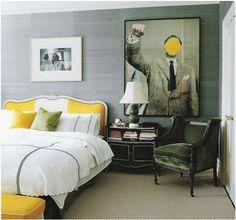 john baldessari print in the bedroom <3