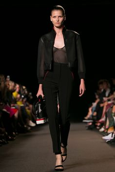 A look from the Alexander Wang Spring 2015 RTW collection.