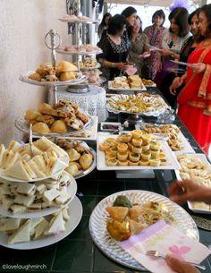 High tea  - the Indian way ...via