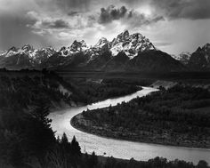 Ansel Adams National Parks The Tetons and the Snake River, Grand Teton National Park, WY 1942