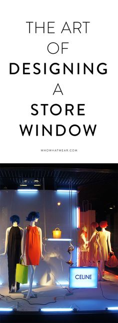 Go inside the world of a Barney's visual merchandiser; love the colour blocking #vm #retail
