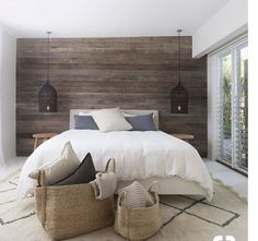 Accent Wall Ideas Youll Surely Wish to Try This at Home Bedroom Living Room Ideas Painted Wood Colors DIY Wallpaper Bathroom Kitchen Shiplap Brick Stone Black Blue Rustic Green In Living Room Designs Grey Office Entryway Red Dark Small Master Bedroom, Farmhouse Master Bedroom, Dream Bedroom, Home Bedroom, Bedroom Decor, Wooden Wall Bedroom, Bedroom Romantic, Bedroom Lighting, Texas Bedroom