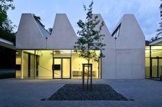 Akademie der Bildenden Künste Nürnberg, Hascher Jehle Architektur, 2013, Foto, Außenansicht, Sheddach