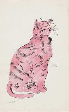 Andy Warhol - Sam (Light Pink), 1954