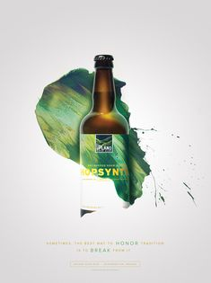 """Indianapolis-based agency Young & Laramore created this vibrant advertising campaign and packaging design for Upland Sour Ales. """"Sour ales — beers that are made with wild yeast and often intensely tart, acidic and/or funky — are not for everyone. But for adventurous craft drinkers who appreciate and seek them out, Upland's wood-aged sours are among the finest in the world. As we learned more about the brewing process, it became evident that a crucial part of what makes Upland'..."""