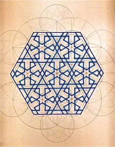 Rafael Araujo is a Venezuelan architect and illustrator who at the age of fifteen began to observe intelligent patterns in nature, giving rise to his… Islamic Art Pattern, Arabic Pattern, Pattern Art, Pattern Design, Polygon Pattern, Geometric Patterns, Geometric Designs, Textures Patterns, Geometric Drawing
