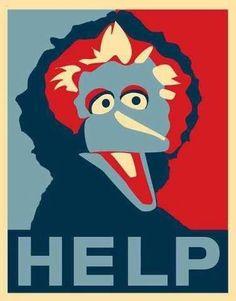 Big Bird says help!
