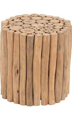 """Deco 79 38411 Teak Wood Foot Stool, 14"""" x 16"""", Brown Best Price"""