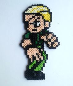 Ramon (King of Fighters) Perler beads by Nerd Melt